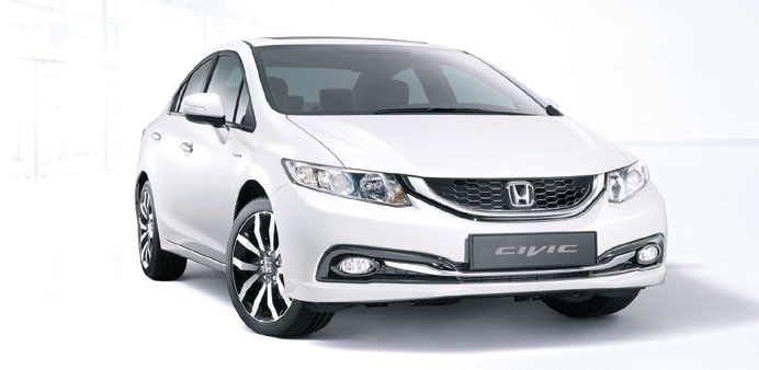 The 2013 Honda Civic sedan.
