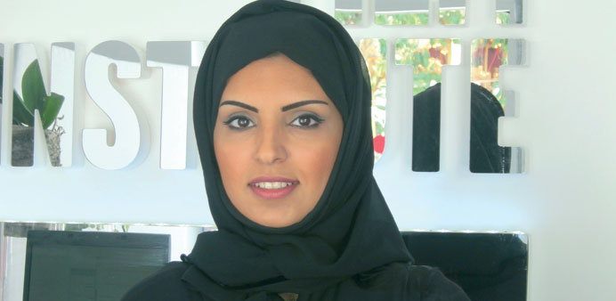 Fatma al-Remaihi: the director of the Ajyal Film Festival for the Young and DFI's Head of Programmes