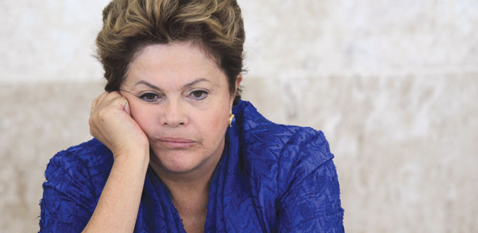 Rousseff ... tricky turns.
