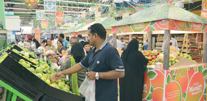 The promotion features more than 85 varieties of mangoes from around the world.