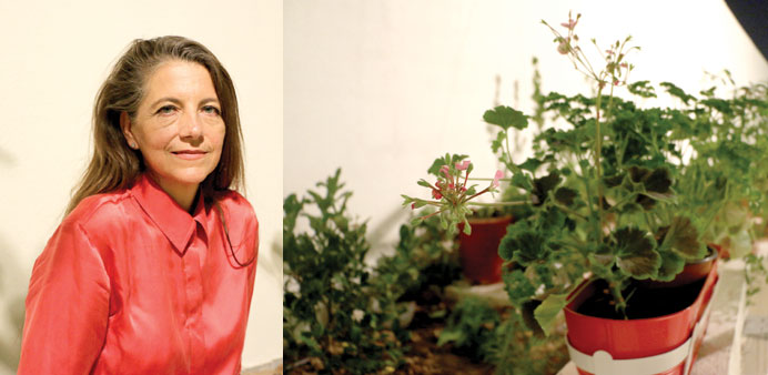 INSPIRATION: Dr Anna Grichting Solder believes there are many possibilities of growing green in Qata