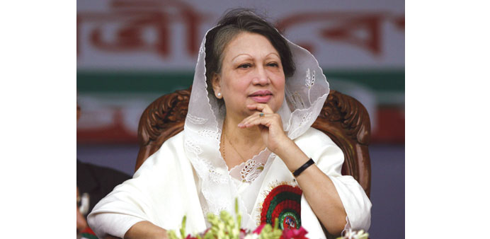 BNP chief Khaleda Zia is accused of syphoning off $400,000 from a charitable trust.