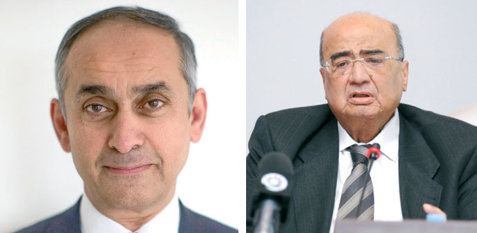 Lord Darzi of Denham and  Dr Mohamed Fathy Saoud