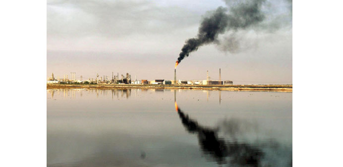 Iraq's huge oil reserves in its southern fields, which have not been touched by the Islamic State in