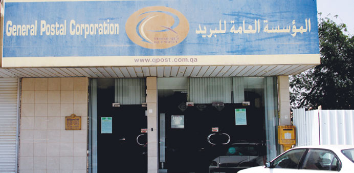 The Al Mirgab post office is being closed as the landlord wants Q-Post to vacate the building. PICTU